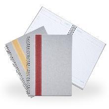 Caderno Grande com Faixa