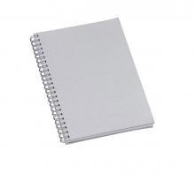Caderno de Negocios Metalizado Prata