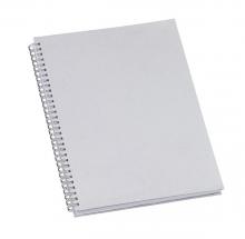 Caderno de Negocios Grande Prata